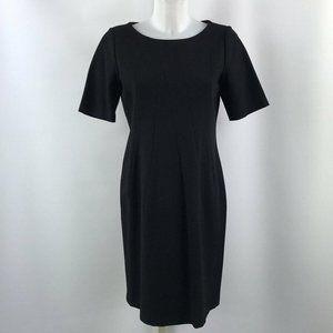 Lafayette 148 Black Short Sleeve Dress Size 8